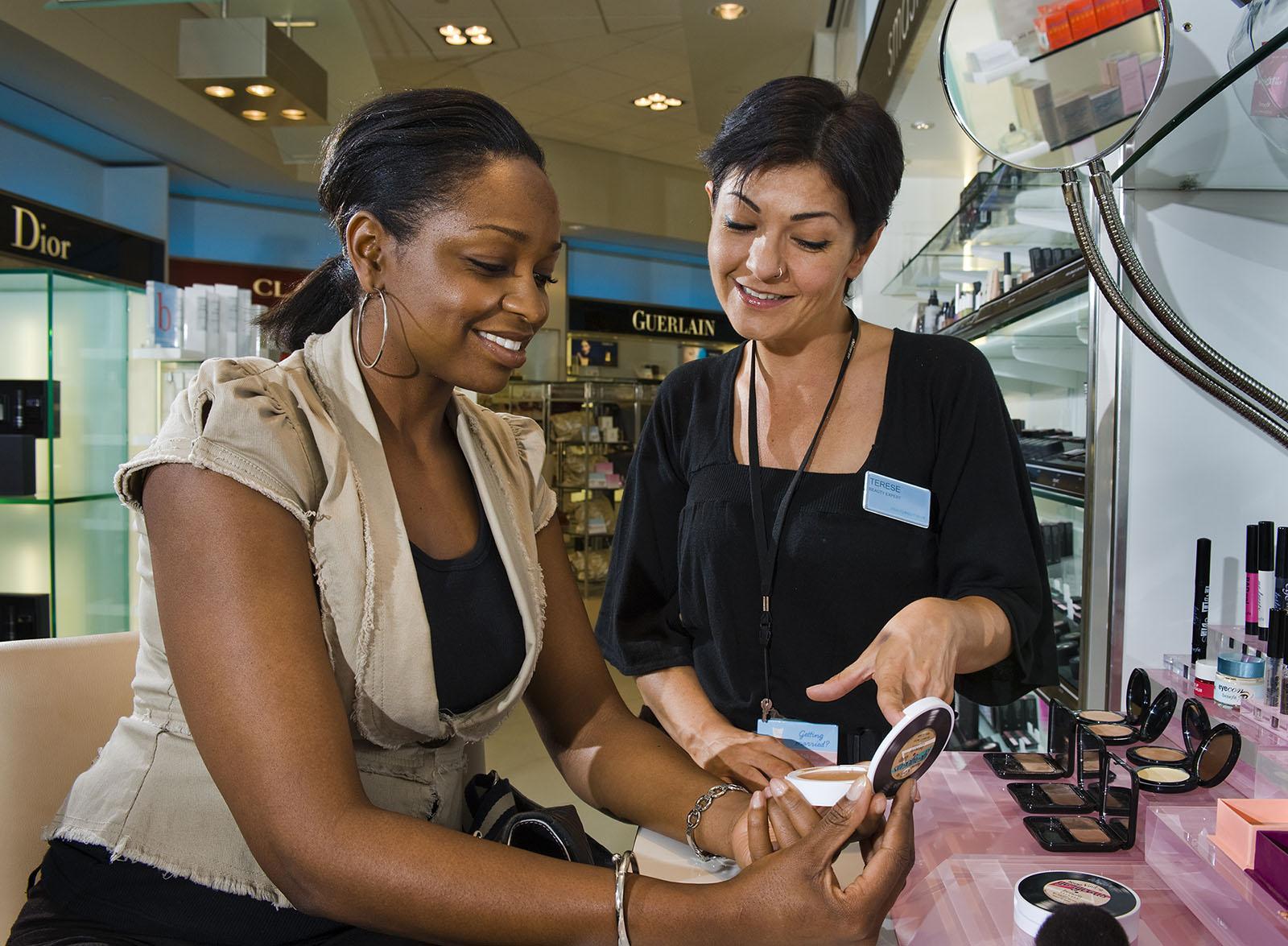 Cosmetic advisor at Shoppers Drugmart, Toronto