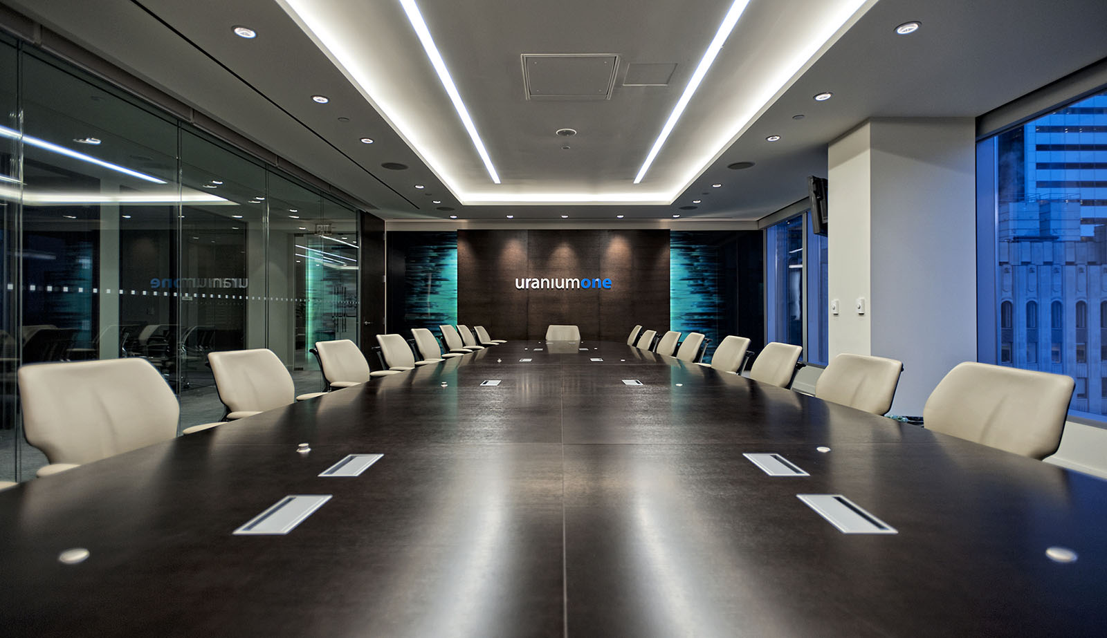 Uranium One offices boardroom, Toronto, Ontario