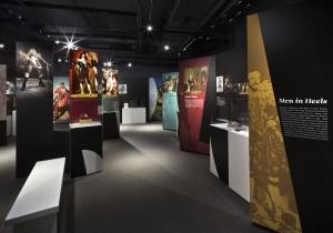 Men In Heels Exhibit, Bata Shoe Museum