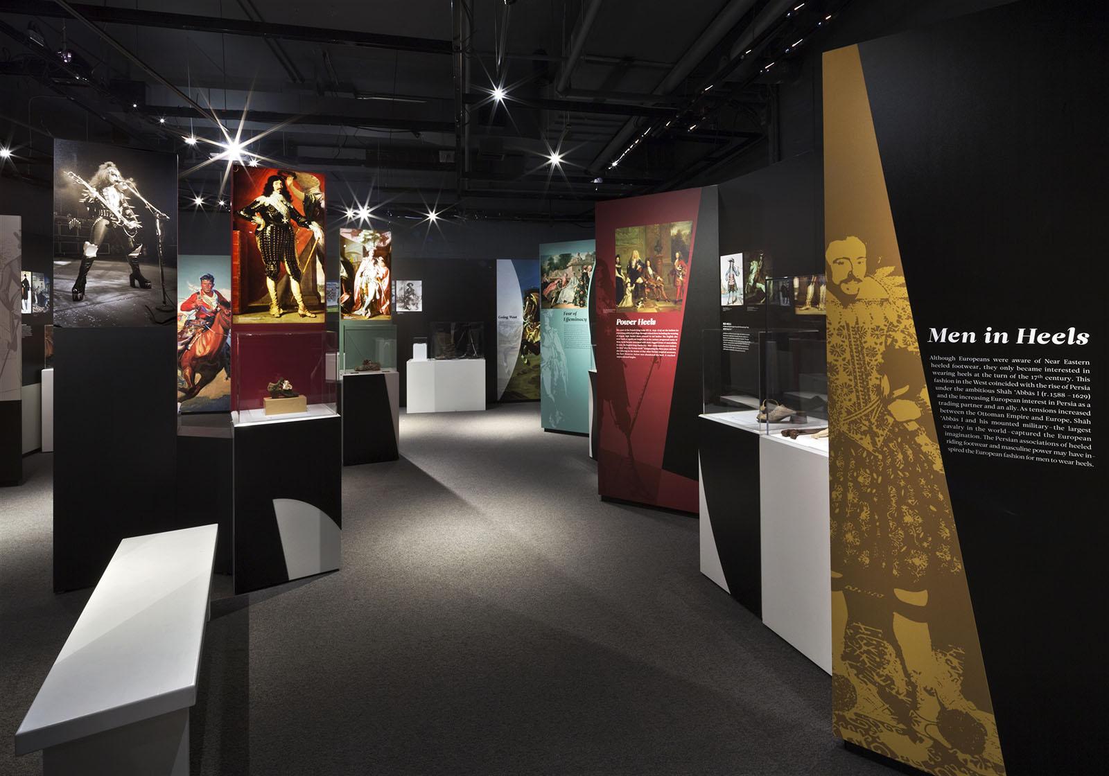 Bata Shoe Museum exhibit, Toronto, Ontario