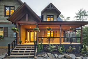muskoka cottage - philip castleton architectural photography