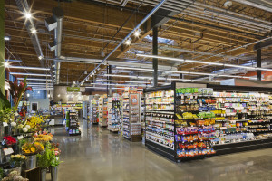 Grocery store photoshoot interior