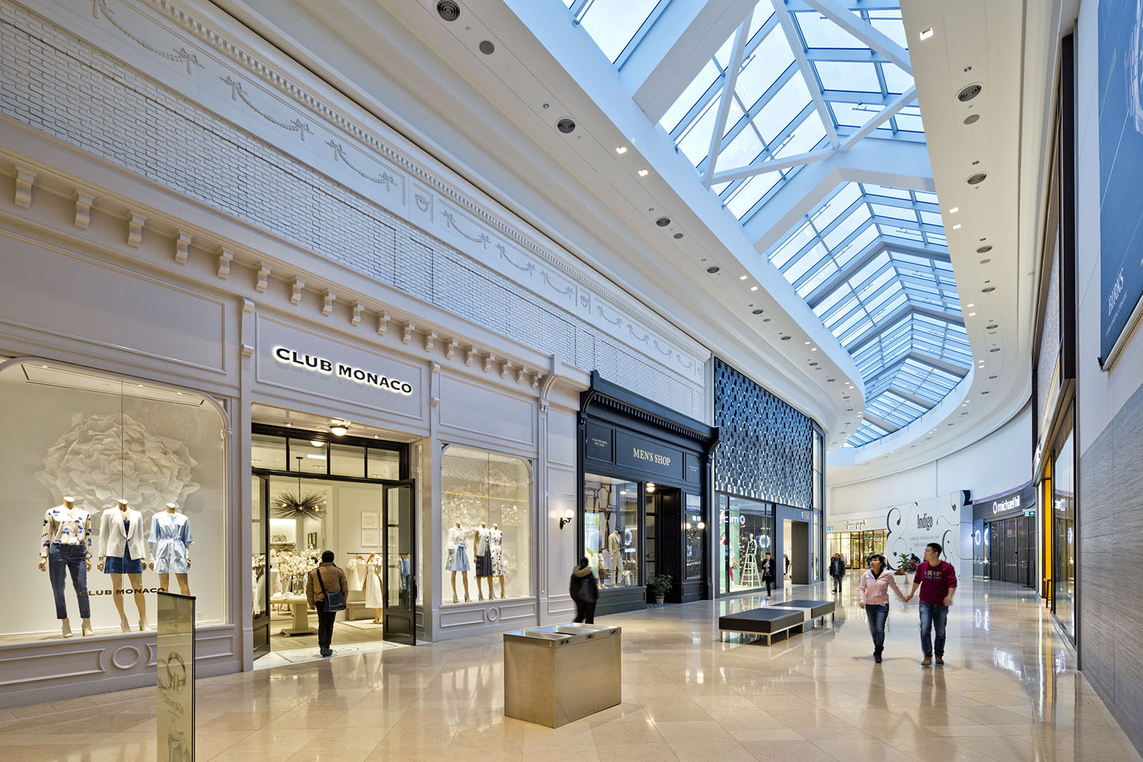 New expansion at Sherway Shopping Mall, Toronto, Ontario