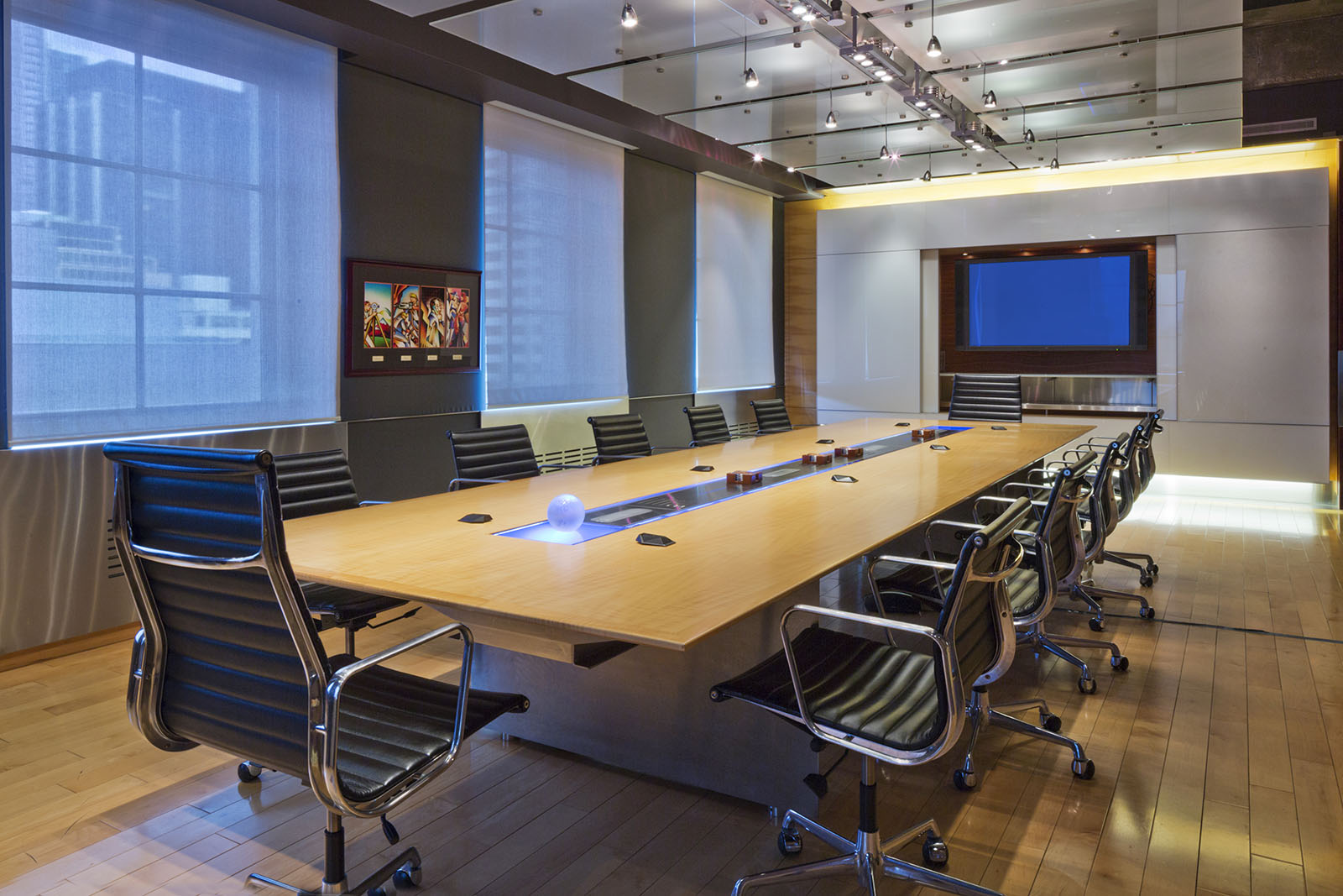Corporate boardroom, 250 University, Toronto, Ontario