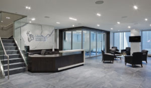 Liberty International Underwriters office reception area