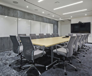 Liberty International Underwriters offices, boardroom