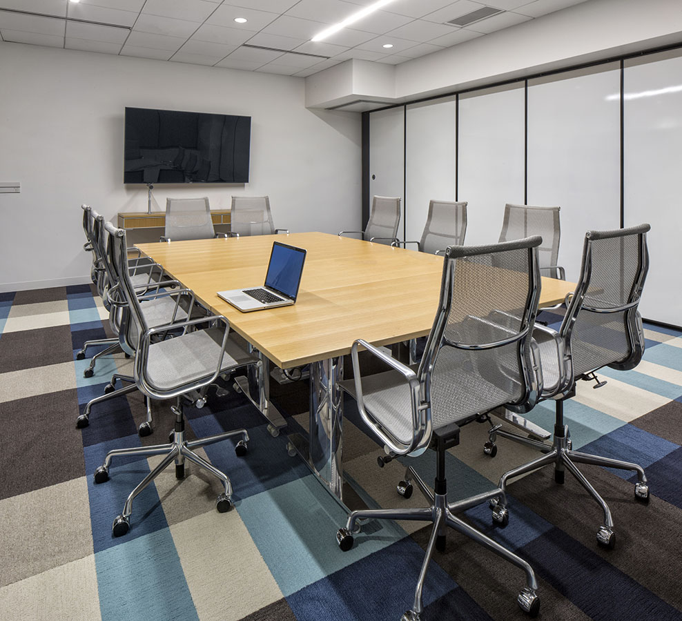 Boardroom at Marriott Hotels of Canada head office, Mississauga, Ontario